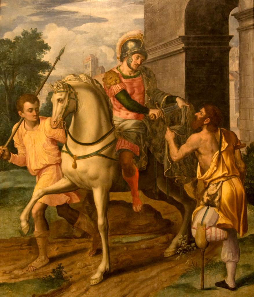 San Martín de Tours - Jan van Hermessen