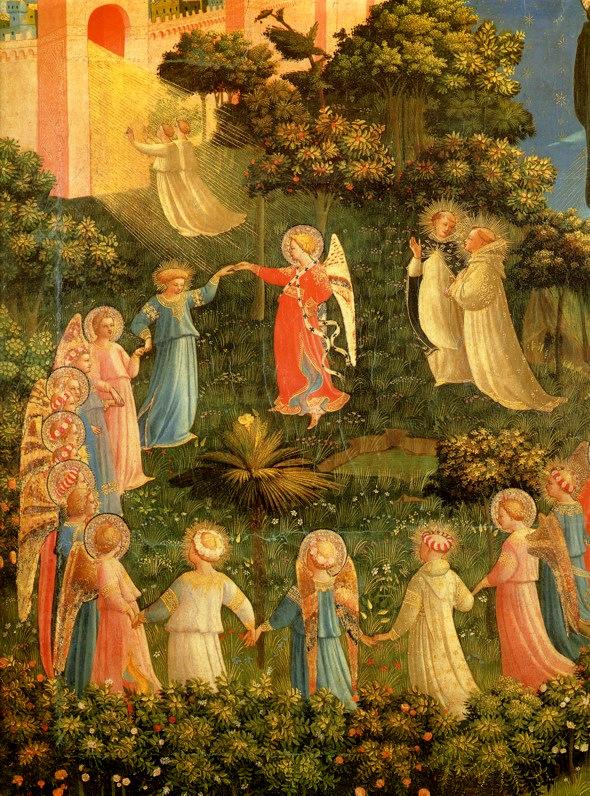 Entrata della Gerusalemme Celeste, del Beato Angelico