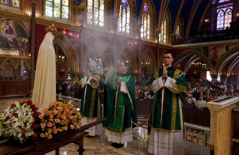 Primeiro sábado no Basílica de Nossa Senhora do Rosário