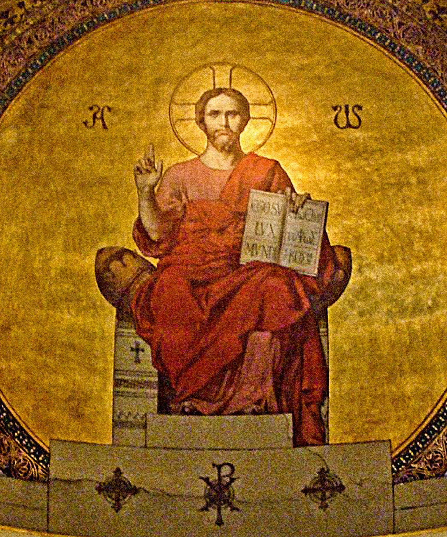 Maestà di Cristo, Luce del mondo – Chiesa di San Barnaba, Marsiglia (Francia)