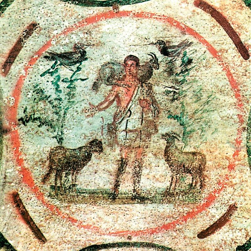 Il Buon Pastore – Catacomba di Santa Priscilla, Roma