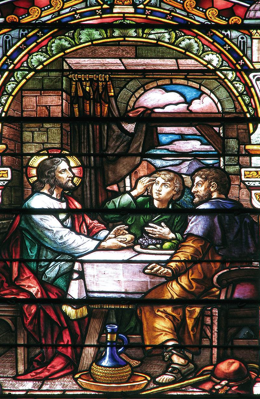 Araldi del Vangelo - Nostro Signore con i discepoli di Emmaus - Chiesa Santa Maria Maddalena, Granada (Spagna)