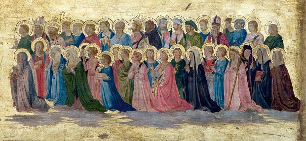 Pala di Fiesole (dettaglio), del Beato Angelico