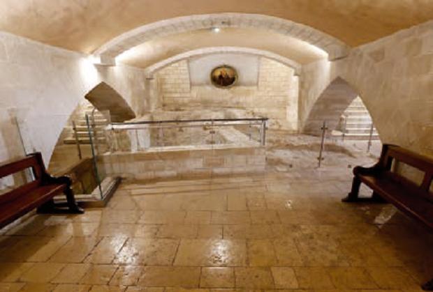 Casa della Sacra Famiglia nella Chiesa di San Giuseppe – Complesso della Basilica dell'Annunciazione, Nazareth (Terra Santa)