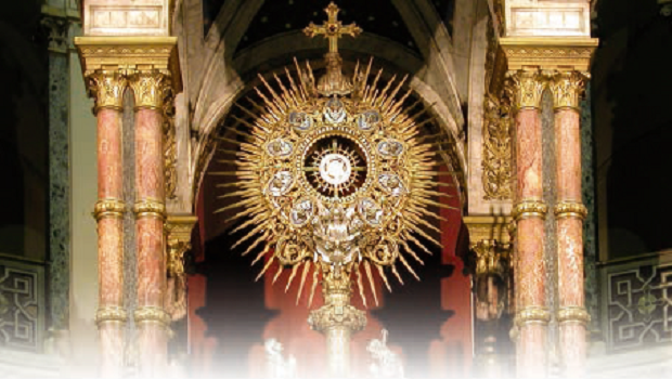 Ostensorio – Basilica del Santissimo Sacramento, Buenos Aires