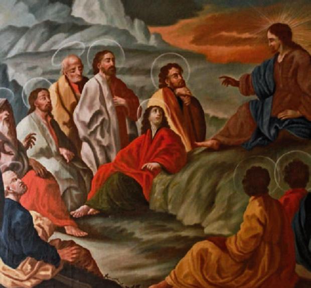 Gesù insegna agli Apostoli
