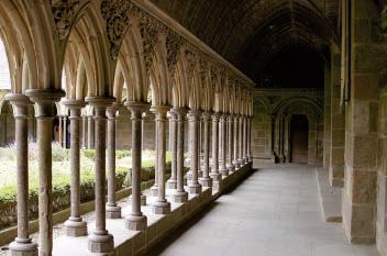 Monastero di Mont-Saint-Michel (Francia)