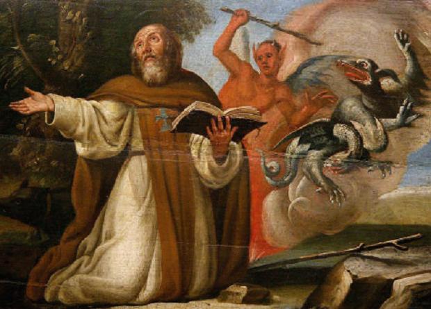 La tentazione di Sant'Antonio Abate