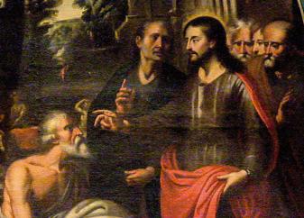 Gesù che guarisce il sordo