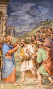 Gesù guarisce vari malati