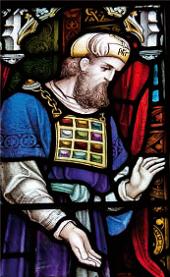 Sacerdote indossa un efod