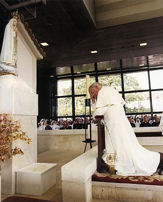 Joao Paulo II em Fatima