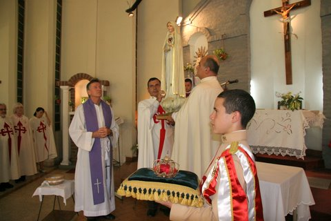 Virgen de Fátima en Ituzaingó