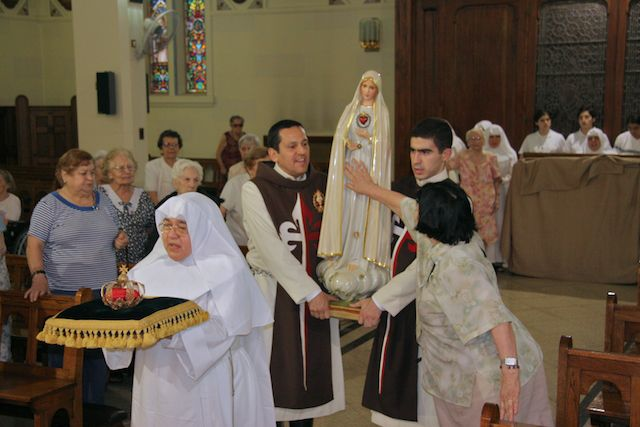 Visita a el Convento de las Hermanas de los Ancianitos Desamparados