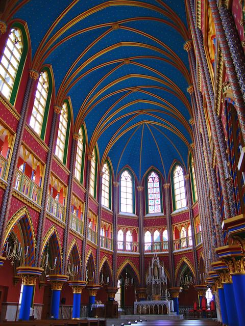 Heraldos en Argentina - Iglesia en el Seminario Menor de los Heraldos del Evangelio