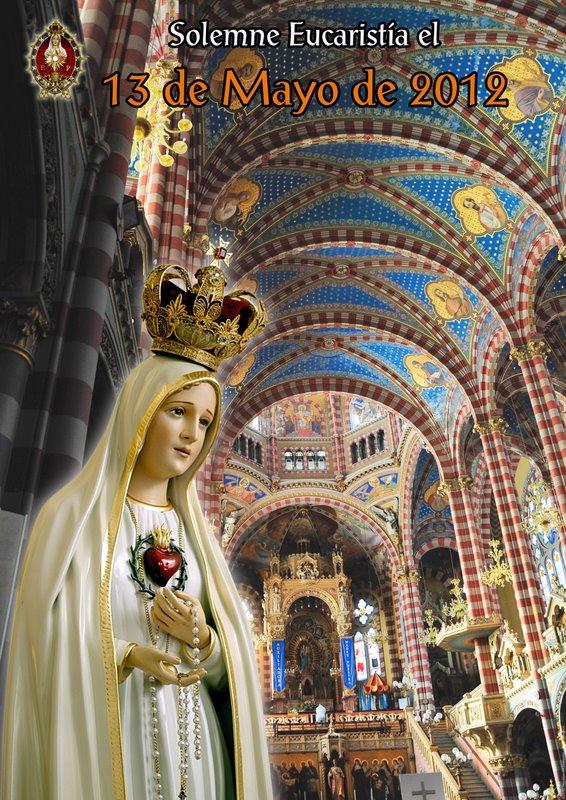 Ceremonia 13 de Mayo - Virgen de Fátima