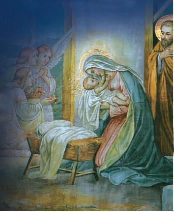 Menino Jesus e Nossa Senhora