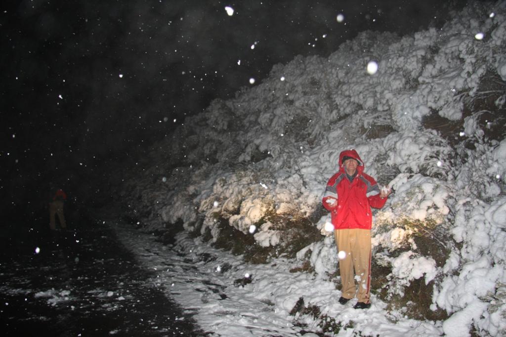 Neve na Serra Catarinense