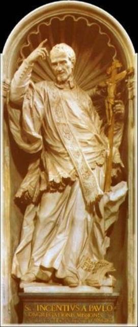 27 de setembro, Dia de São Vicente de Paulo.