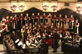 Canção Noite Feliz encerra as festividades natalinas no TJSP – Tribunal de Justica do Estado de Sao Paulo.