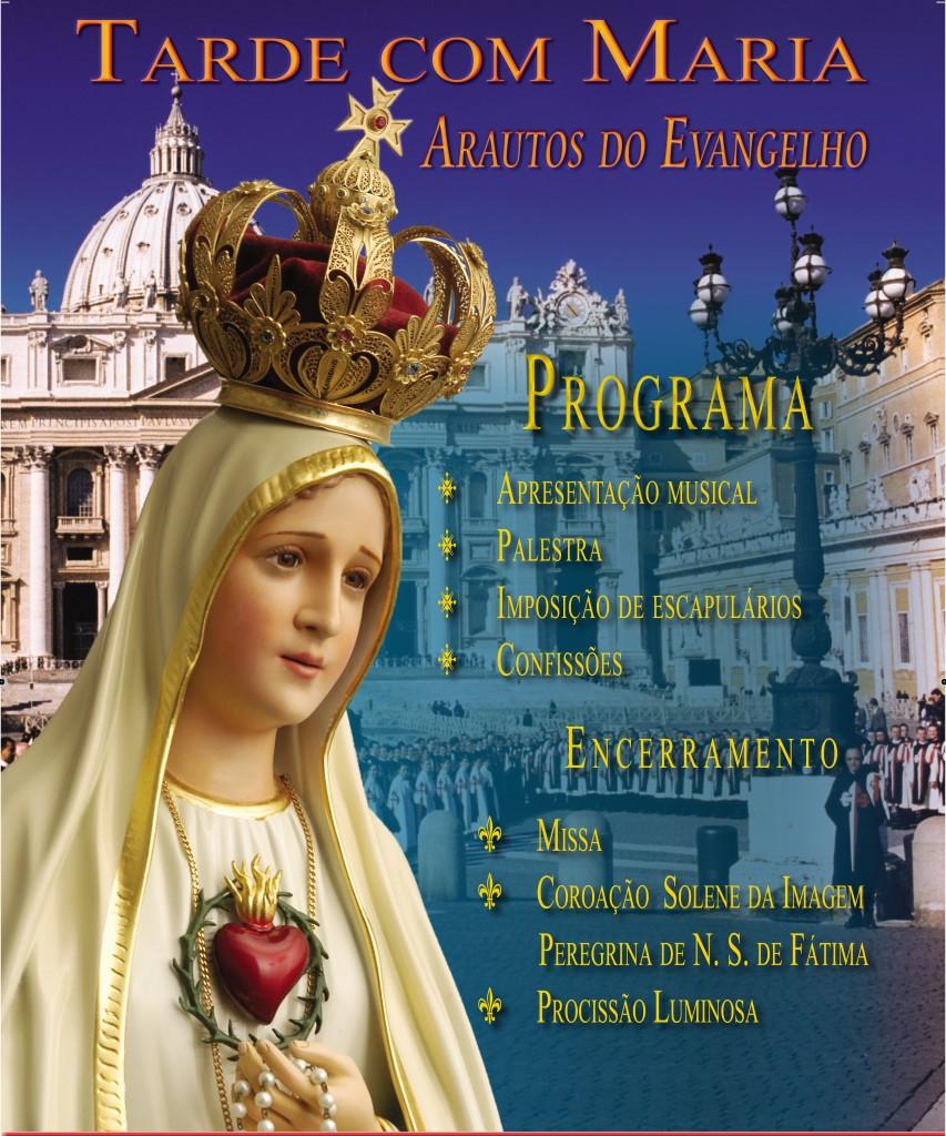 Convite: Tarde com Maria em Joinville-SC