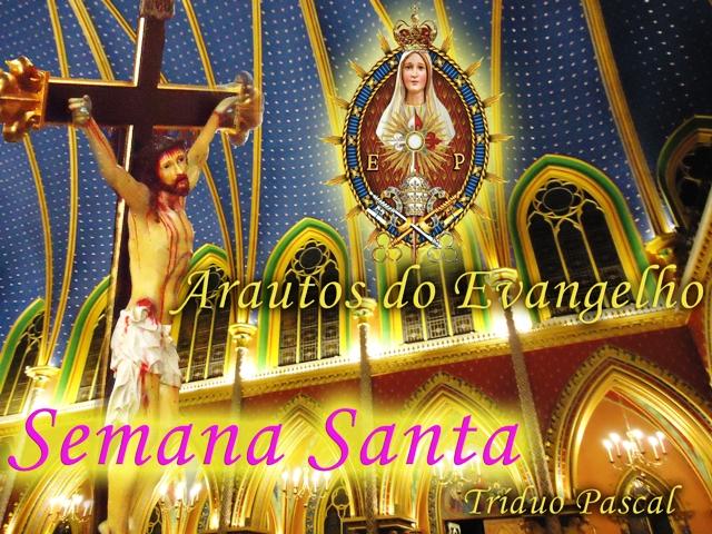 Horário das Missas de Semana Santa