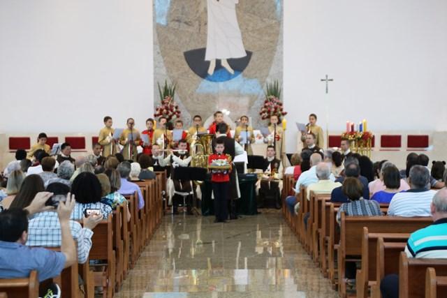 Cantata de Natal na Paróquia Nossa Senhora do Perpétuo Socorro