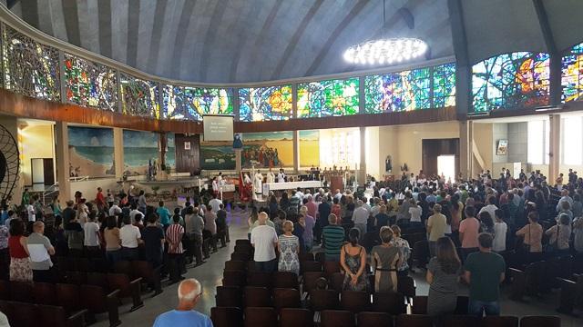 Festa da Divina Misericórdia na Catedral de Joinville