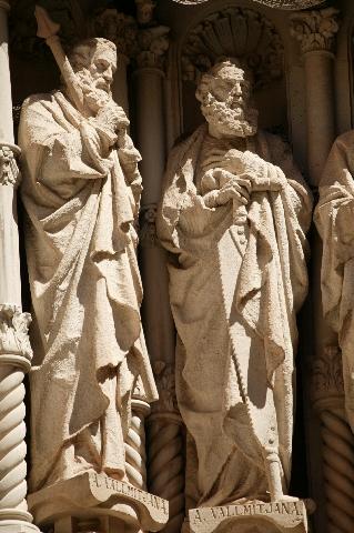 São Pedro e São Paulo, Mosteiro de Monserrat, Barcelona, Espanha