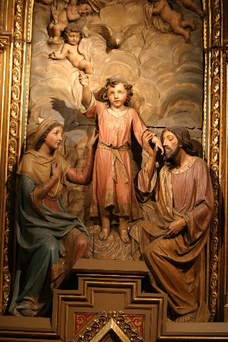 Sagrada Família, Paróquia de Bilbao (Espanha)