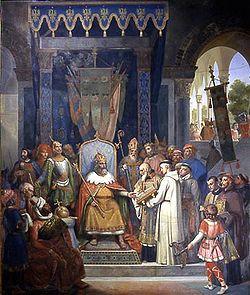 Carolus Magnus et Alcuinus