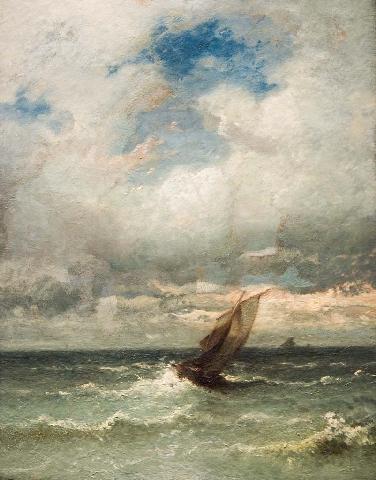 Diu in ista nave fui et propter tempestatem nubesque semper mortem exspectabam.