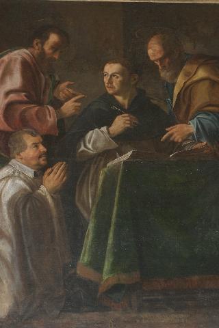 São Tomás de Aquino com São Pedro e São Paulo, Catedral de Dijon, França