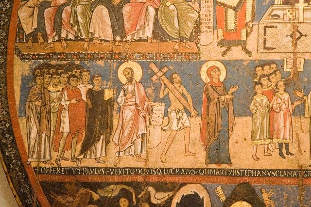 Imagem representando os cristãos dos primeiros tempos pertencente à Pinacoteca Vaticana