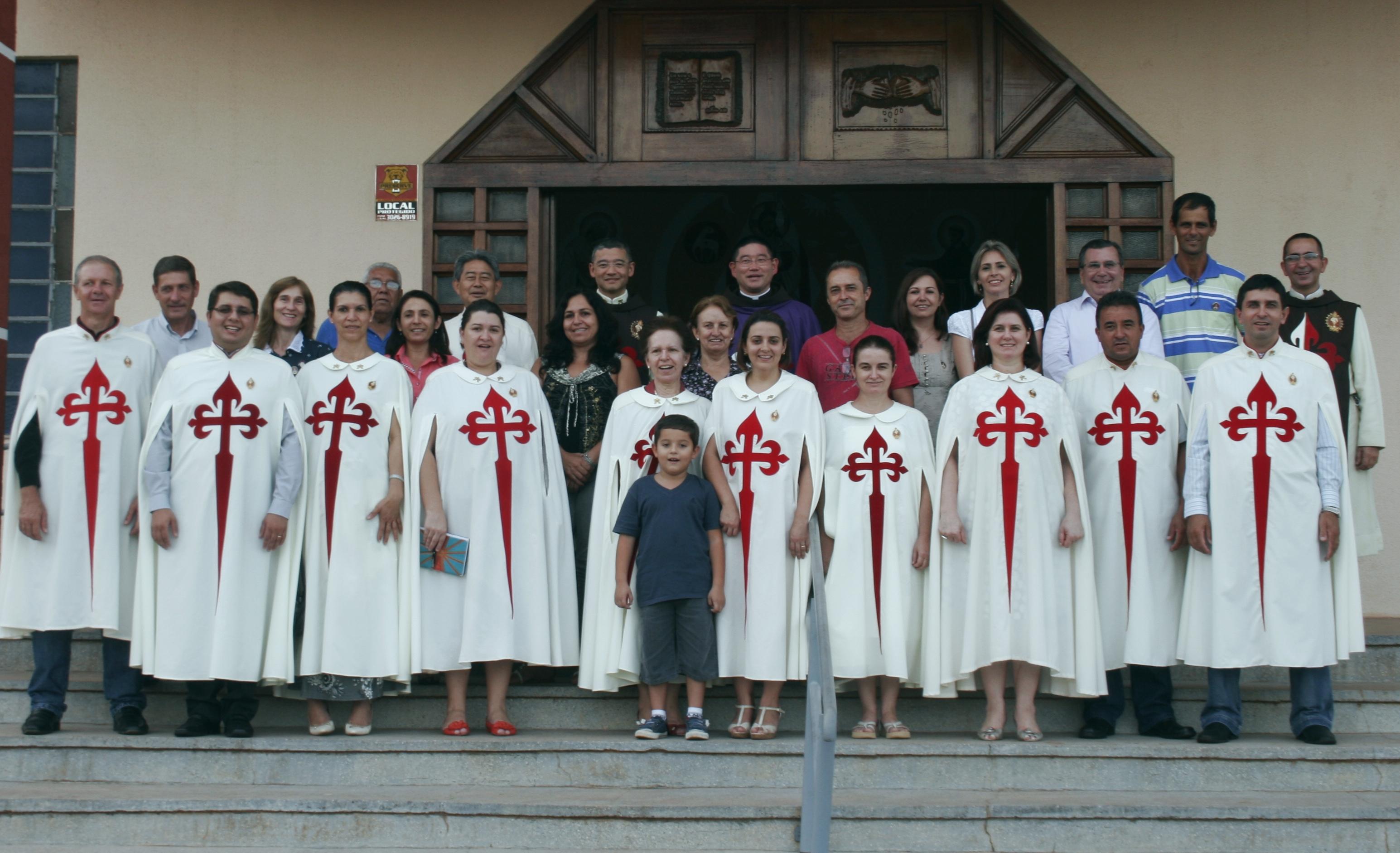 Encerramento do simpósio, na Capela São Francisco de Assis da Paróquia Nossa Senhora de Guadalupe