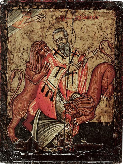SANTO DO DIA: SANTO INÁCIO DE ANTIOQUIA: A FÉ E O AMOR A JESUS LEVADOS AO HEROÍSMO