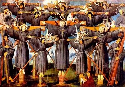 Santos do Dia: São Paulo Miki e seus companheiros mártires