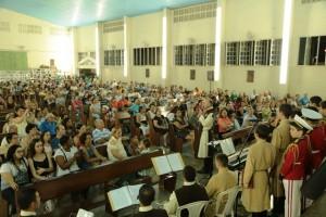 Cantata Natalina na paróquia Santo Antônio em Macaé