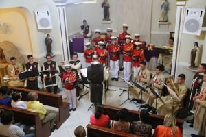 Cantata natalina e envio de oratório em Boa Sorte