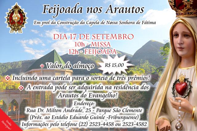 Convite – Feijoada – 17 de setembro