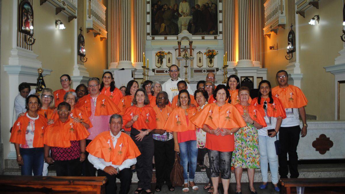 Apostolado do Oratório na peregrinação dos Movimentos Marianos a Cantagalo