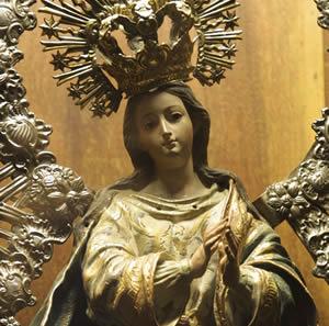 Resultado de imagem para santíssima virgem