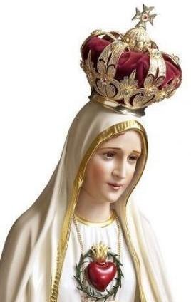 Resultado de imagem para nossa senhora do rosario arautos