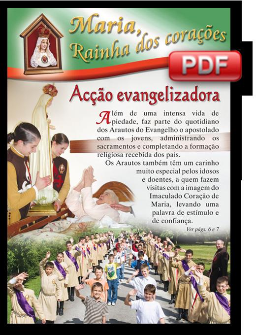 """PDF do Boletim: """"Maria Rainha dos Corações"""""""