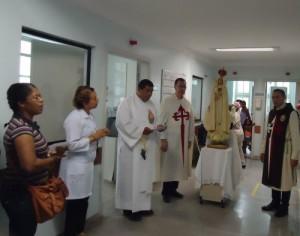 Encerramento do mês de Maria no Hospital das Clínicas