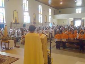 Consagrações a Nossa Senhora na celebração do 1° Sábado do mês