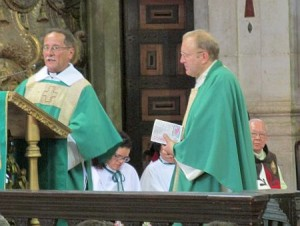 Apresentados novo vigário e diácono para a Catedral de Salvador