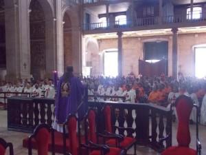 Primeiro Sábado de Março na Catedral Basílica de Salvador