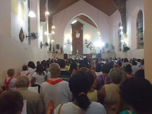 Encerramento do mês de Maria em Periperi