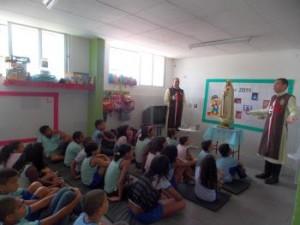 Visita ao Centro Educacional Recanto das Ilhas